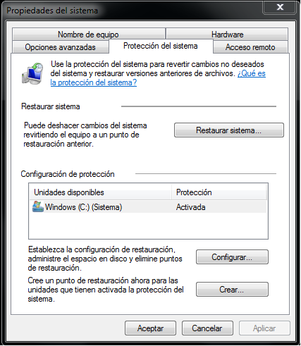 Copia de Seguridad Backup Windows