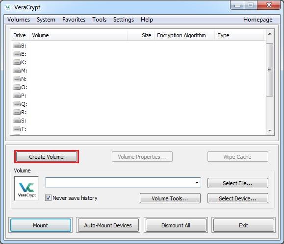 VeraCrypt para usuarios