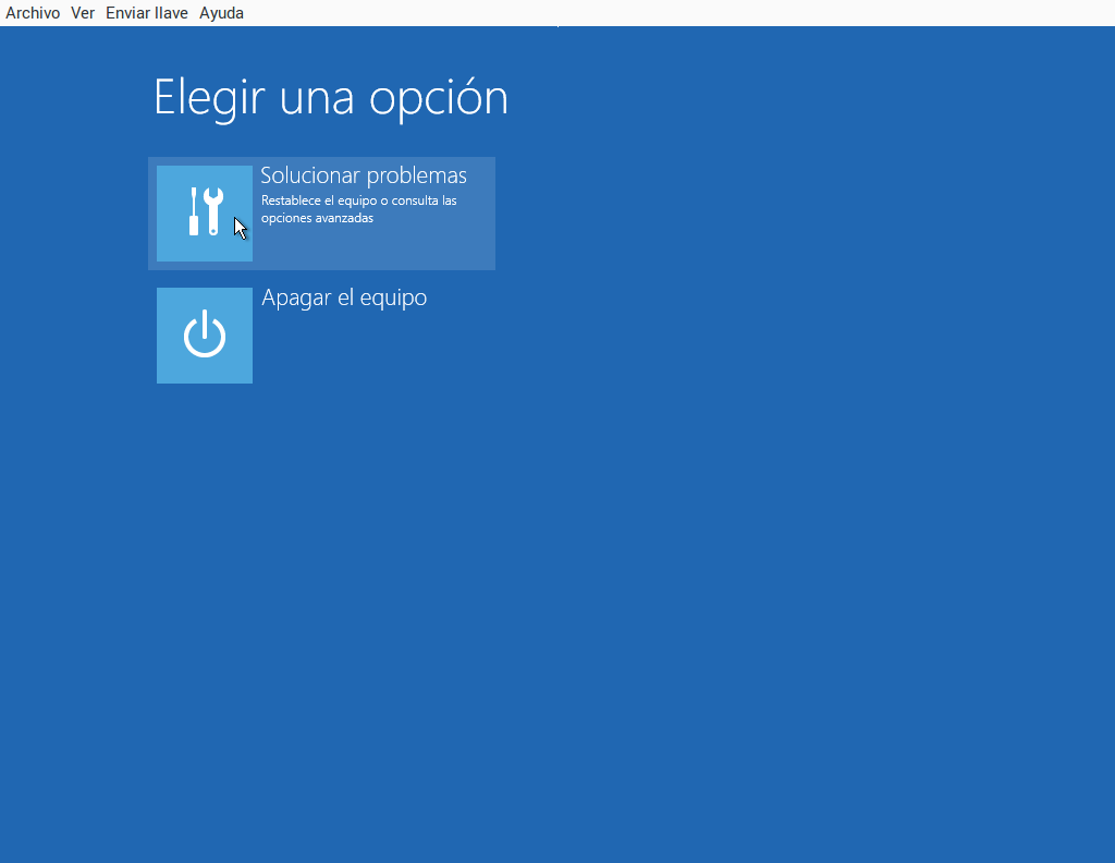 Windows 10 recupera